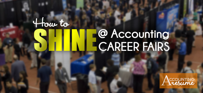accounting career fair