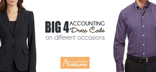 Big 4 accounting dress code
