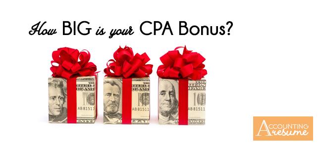 Big 4 cpa bonus